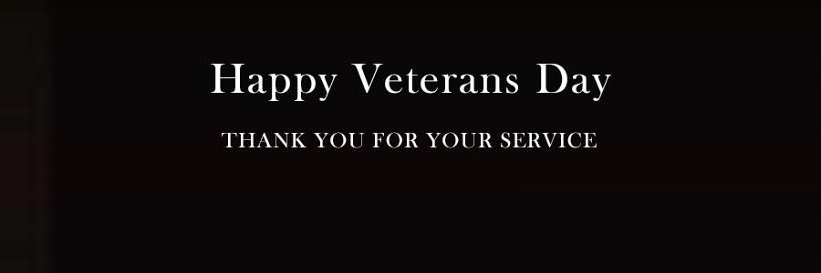 Happy Veterans Day