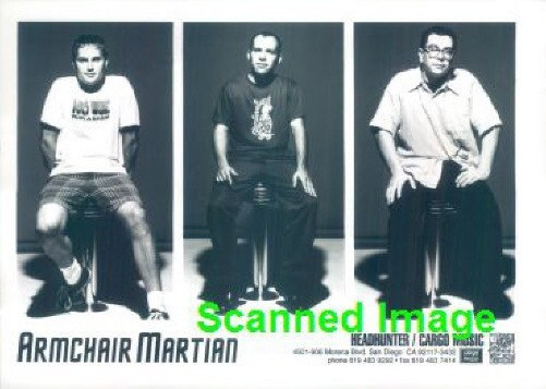 Press Photo: ARMCHAIR MARTIAN 5x7 B&W | eBay