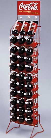 Coca Cola 174 2 Liter P O P Rack Houston Wire Works In